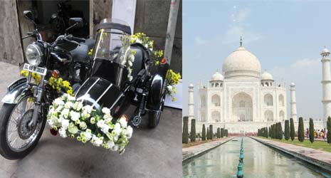 Golden Triangle India Tour by Side Car