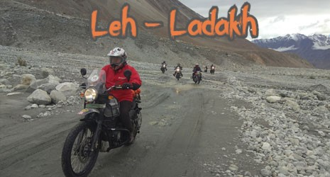 Motorbike Tours Leh Ladakh