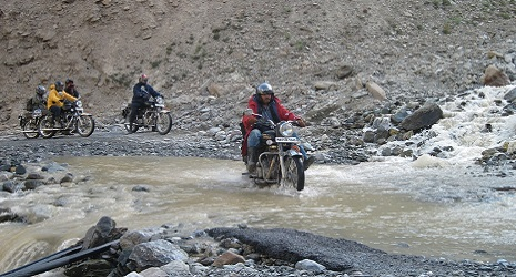 Motorcycle Tour in Himachal India